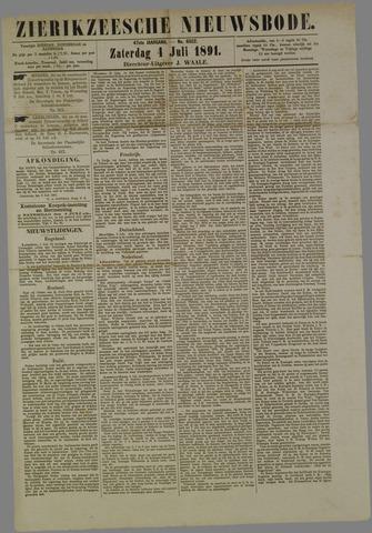 Zierikzeesche Nieuwsbode 1891-07-04