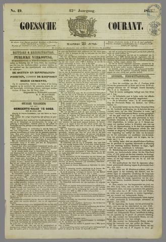 Goessche Courant 1855-06-25