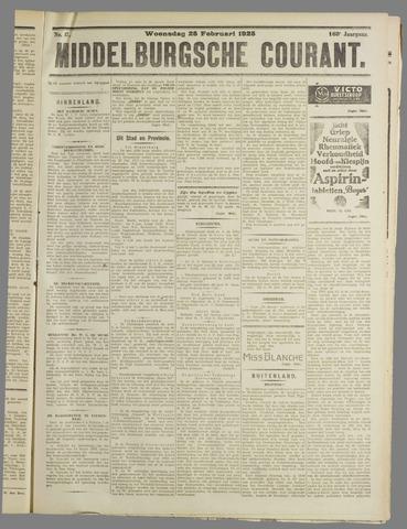 Middelburgsche Courant 1925-02-25