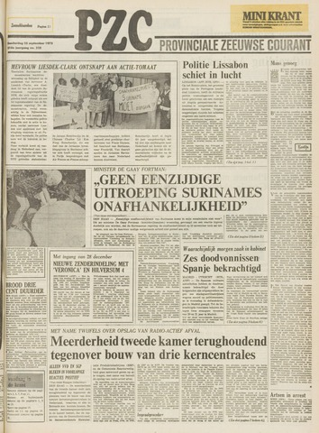 Provinciale Zeeuwse Courant 1975-09-25