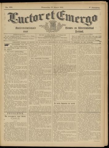 Luctor et Emergo. Antirevolutionair nieuws- en advertentieblad voor Zeeland / Zeeuwsch-Vlaanderen. Orgaan ter verspreiding van de christelijke beginselen in Zeeuwsch-Vlaanderen 1912-03-13