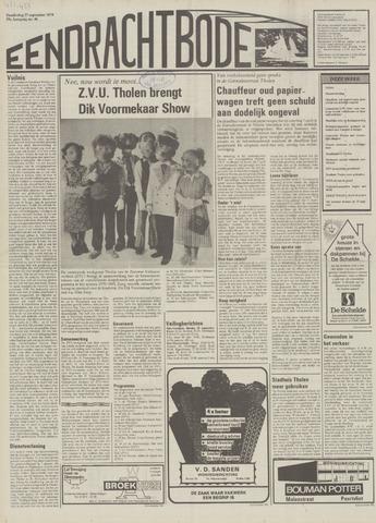 Eendrachtbode (1945-heden)/Mededeelingenblad voor het eiland Tholen (1944/45) 1979-09-27