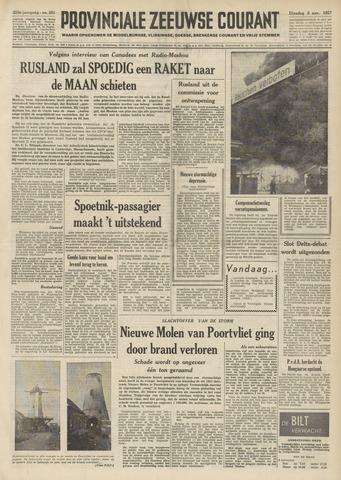 Provinciale Zeeuwse Courant 1957-11-05