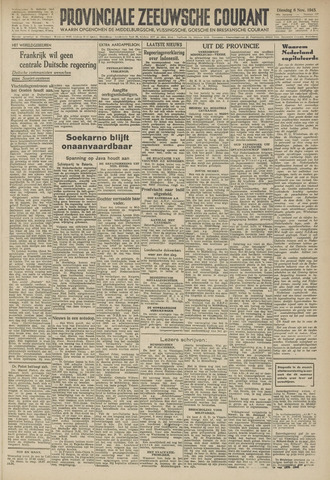 Provinciale Zeeuwse Courant 1945-11-06
