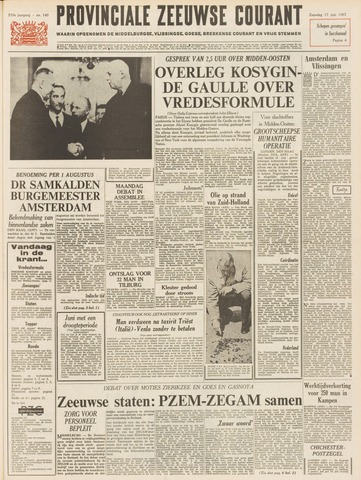 Provinciale Zeeuwse Courant 1967-06-17