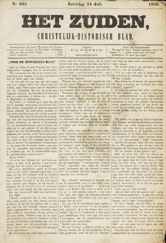 Het Zuiden, Christelijk-historisch blad 1880-07-24