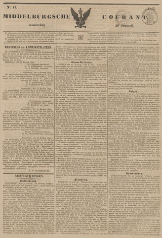 Middelburgsche Courant 1843-01-26