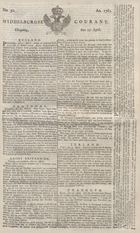 Middelburgsche Courant 1762-04-27
