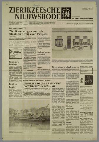 Zierikzeesche Nieuwsbode 1981-03-03