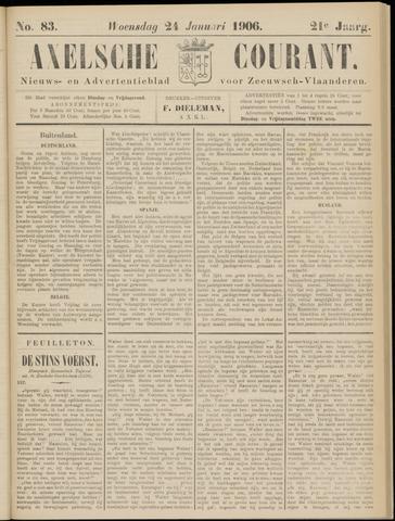 Axelsche Courant 1906-01-24