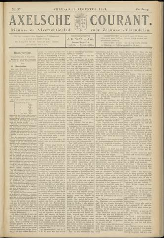 Axelsche Courant 1927-08-12