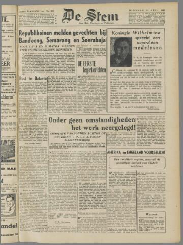 de Stem 1947-07-22