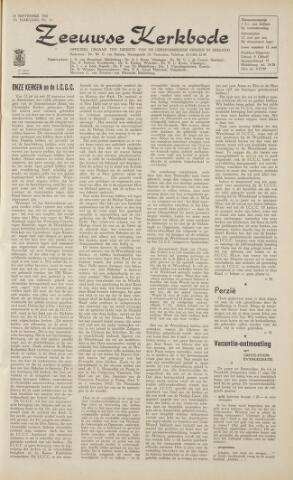 Zeeuwsche kerkbode, weekblad gewijd aan de belangen der gereformeerde kerken/ Zeeuwsch kerkblad 1962-09-14