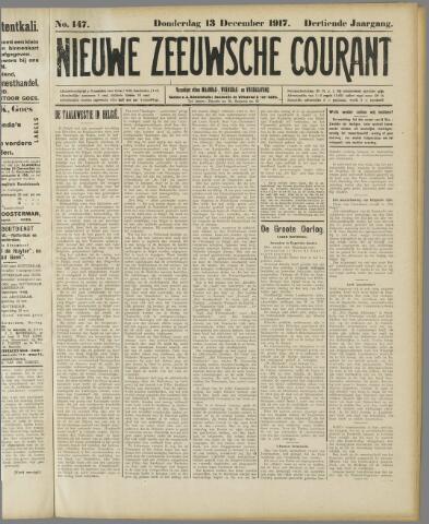 Nieuwe Zeeuwsche Courant 1917-12-13