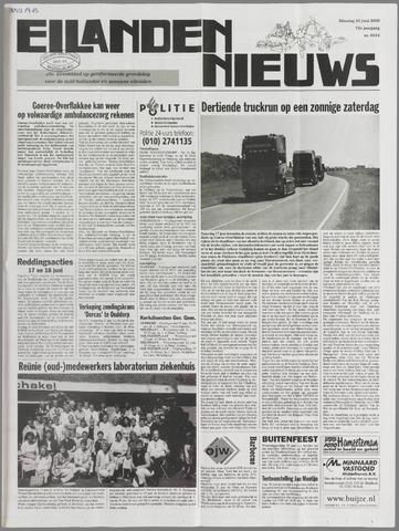 Eilanden-nieuws. Christelijk streekblad op gereformeerde grondslag 2000-06-20