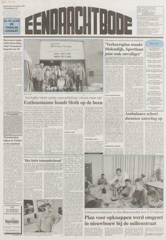 Eendrachtbode (1945-heden)/Mededeelingenblad voor het eiland Tholen (1944/45) 1999-09-09