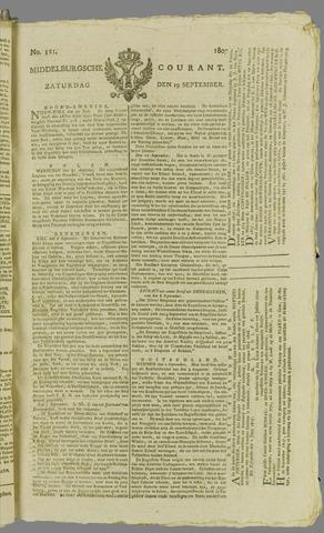 Middelburgsche Courant 1807-09-19
