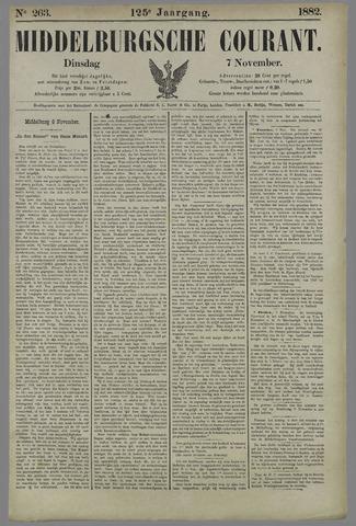 Middelburgsche Courant 1882-11-07