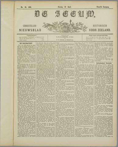 De Zeeuw. Christelijk-historisch nieuwsblad voor Zeeland 1898-04-26