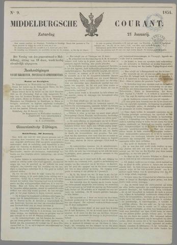 Middelburgsche Courant 1854-01-21