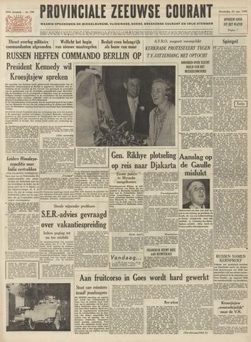 Provinciale Zeeuwse Courant 1962-08-23