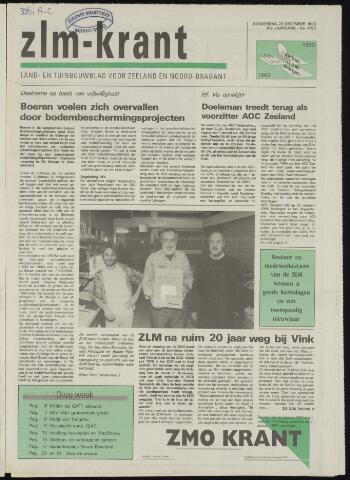 Zeeuwsch landbouwblad ... ZLM land- en tuinbouwblad 1993-12-23