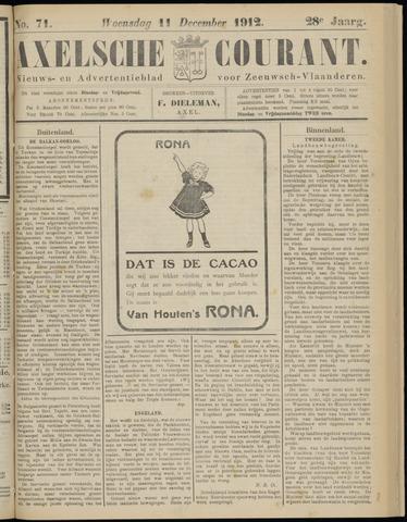 Axelsche Courant 1912-12-11