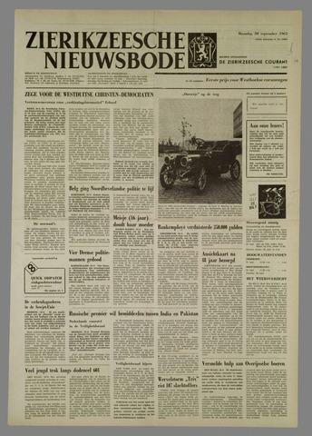 Zierikzeesche Nieuwsbode 1965-09-20
