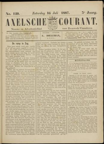 Axelsche Courant 1887-07-16