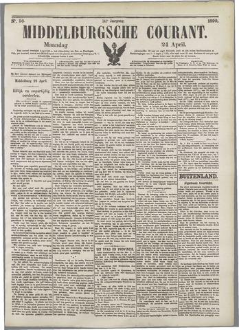 Middelburgsche Courant 1899-04-24