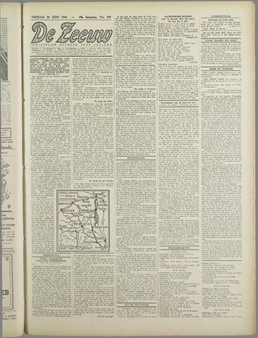 De Zeeuw. Christelijk-historisch nieuwsblad voor Zeeland 1944-06-30
