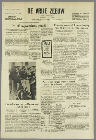 de Vrije Zeeuw 1963-11-08