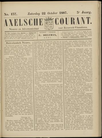 Axelsche Courant 1887-10-22