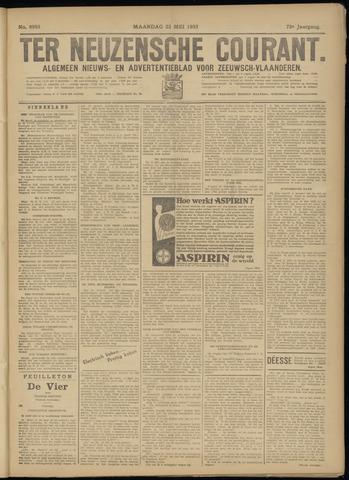 Ter Neuzensche Courant. Algemeen Nieuws- en Advertentieblad voor Zeeuwsch-Vlaanderen / Neuzensche Courant ... (idem) / (Algemeen) nieuws en advertentieblad voor Zeeuwsch-Vlaanderen 1933-05-22
