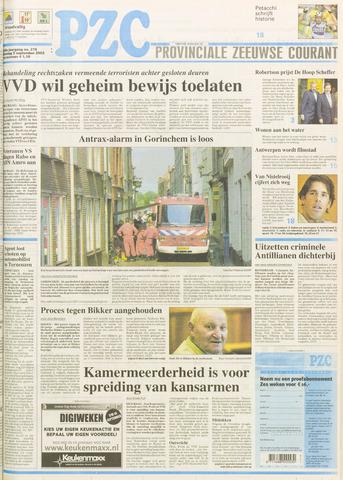 Provinciale Zeeuwse Courant 2003-09-09