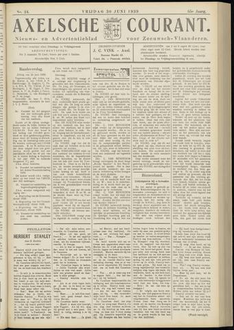 Axelsche Courant 1939-06-30