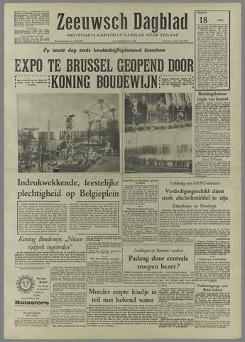 Zeeuwsch Dagblad 1958-04-18