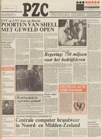 Provinciale Zeeuwse Courant 1979-09-28