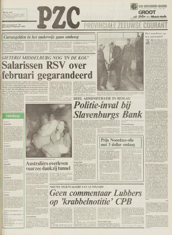Provinciale Zeeuwse Courant 1983-02-19