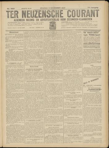 Ter Neuzensche Courant. Algemeen Nieuws- en Advertentieblad voor Zeeuwsch-Vlaanderen / Neuzensche Courant ... (idem) / (Algemeen) nieuws en advertentieblad voor Zeeuwsch-Vlaanderen 1937-12-03
