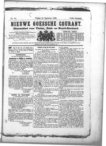 Nieuwe Goessche Courant 1869-09-24