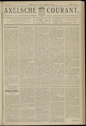 Axelsche Courant 1924-10-03