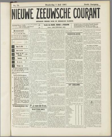 Nieuwe Zeeuwsche Courant 1907-07-04