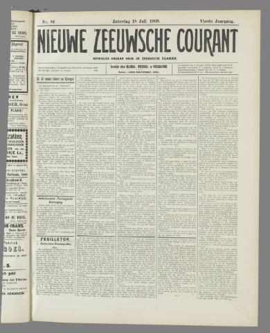 Nieuwe Zeeuwsche Courant 1908-07-18