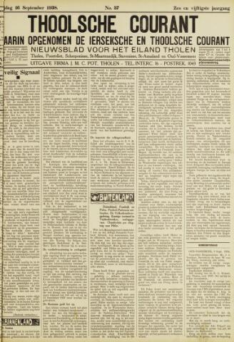 Ierseksche en Thoolsche Courant 1938-09-16