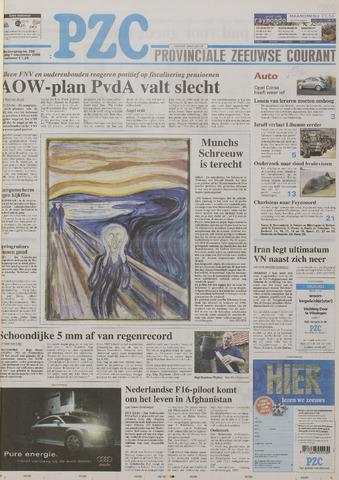 Provinciale Zeeuwse Courant 2006-09-01