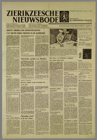 Zierikzeesche Nieuwsbode 1962-04-26