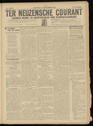 Ter Neuzensche Courant. Algemeen Nieuws- en Advertentieblad voor Zeeuwsch-Vlaanderen / Neuzensche Courant ... (idem) / (Algemeen) nieuws en advertentieblad voor Zeeuwsch-Vlaanderen 1934-12-10