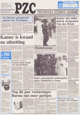 Provinciale Zeeuwse Courant 1988-09-12