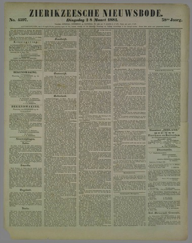 Zierikzeesche Nieuwsbode 1882-03-28